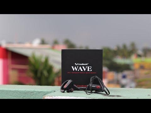 crossbeats-wave-bluetooth-waterproof-headphones-||-unboxing-&-review