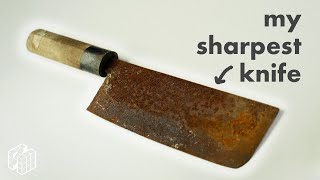 Learning to Restore a Rusty Knife in 7 hours