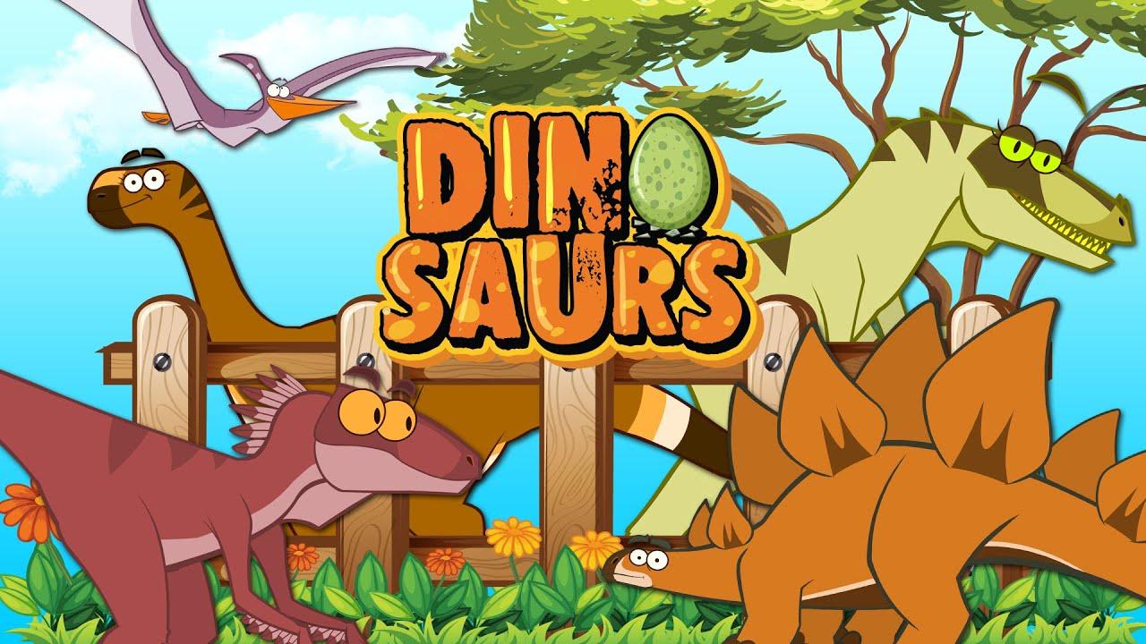 LES PLUS GRANDS DINOS | Dessin Animé Drôle Pour Les Enfants | Je Suis Un Dinosaure