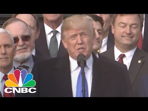 Trump On Sweeping Tax Bill: We Are Making America Great Again | CNBC