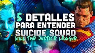 El tráiler de SUICIDE SQUAD al DETALLE: todo sobre el juego de DC COMICS y el universo BATMAN