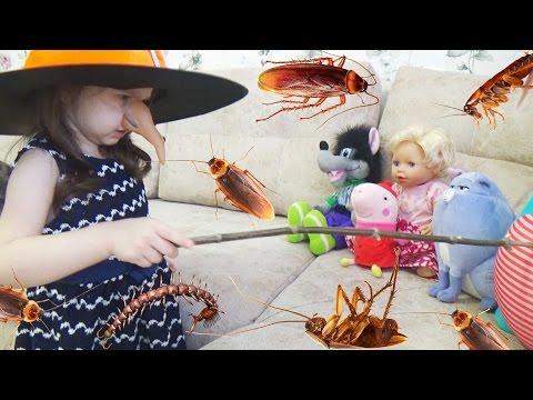 Сборник про ВЕДЬМУ Баба Яга Все серии подряд Видео для детей A collection about the WITCH мультик