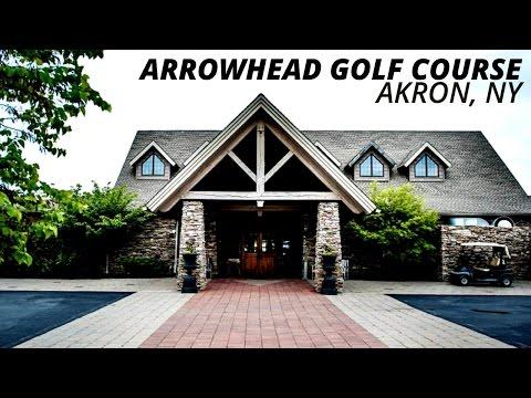Golfing at Arrowhead Golf Club in Akron, NY