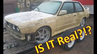 We Found An E30 M3!!