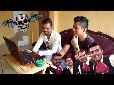 Mariachis Reaccionan a Avenged Sevenfold Malagueña Salerosa Cover (Eng subtitles)