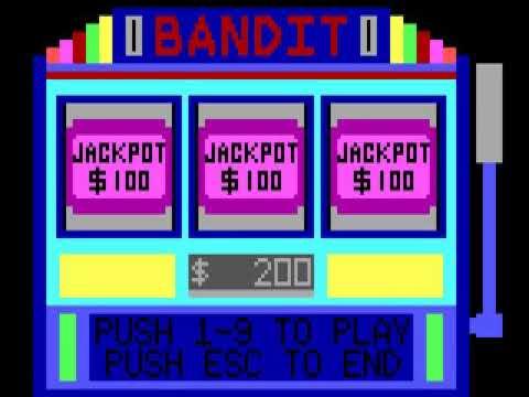 Bandit HYPERSPIN DOS MICROSOFT EXODOS NOT MINE VIDEOS1986
