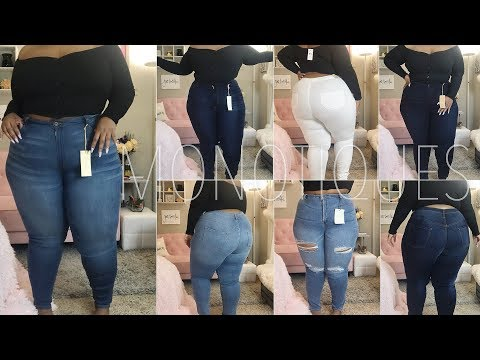 Refreshing My Denim! | Plus Size Jeans Try-On ft. Monotiques | Daquana White
