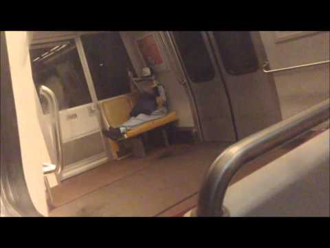 Washington DC Metro | Blue Line FULL JOURNEY: Largo Town Center to Franconia-Springfield