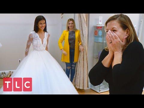 Juliana's Gorgeous Wedding Dress! | 90 Day Fiancé
