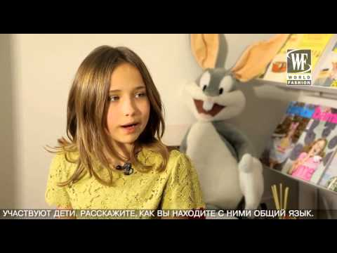 Kids Fashion News Vogue Bambini in Milan with Alisha Velickaite