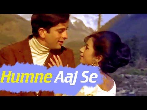 Humne Aaj Se - Shashi Kapoor - Nanda - Raja Saab - Hindi Song