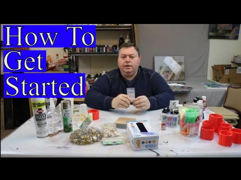 How to get started in Resin Art