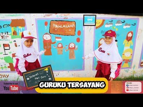 GURUKU TERSAYANG COVER Plus Lirik - Ciptaan MELY GOESLAW