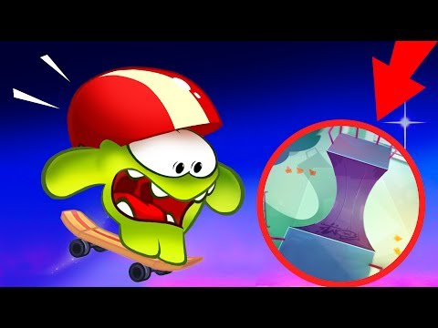 Om Nom Stories - New season 6 - Skateboarding - Cut The Rope video blog - KEDOO animations for kids