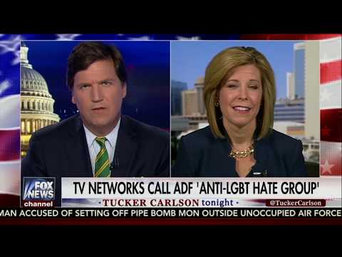 """Tucker Carlson interviews Kristen Waggoner about the SPLC's """"hate group"""" label"""