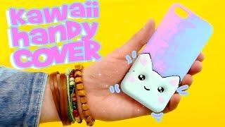Kawaii Katze auf HANDYHÜLLE DIY HANDYHÜLLE selber machen jessejam