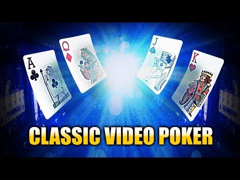 Classic Video Poker - CasinoWebScripts