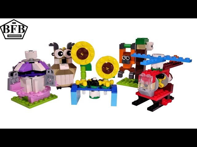 Lego Classic Box 10712 | Fun Functions | Bricks and Gears | Lego Speed Build Review