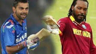 vuclip Chris Gayle dance with Virat Kohli after match, mauka mauka