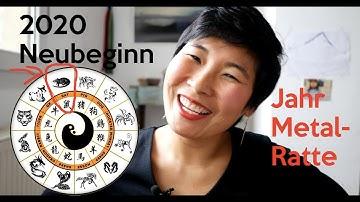 Chinesisches Horoskop 2020 | Neuer Zyklus der Tierkreiszeichen | Mondkalender | Metal Ratte
