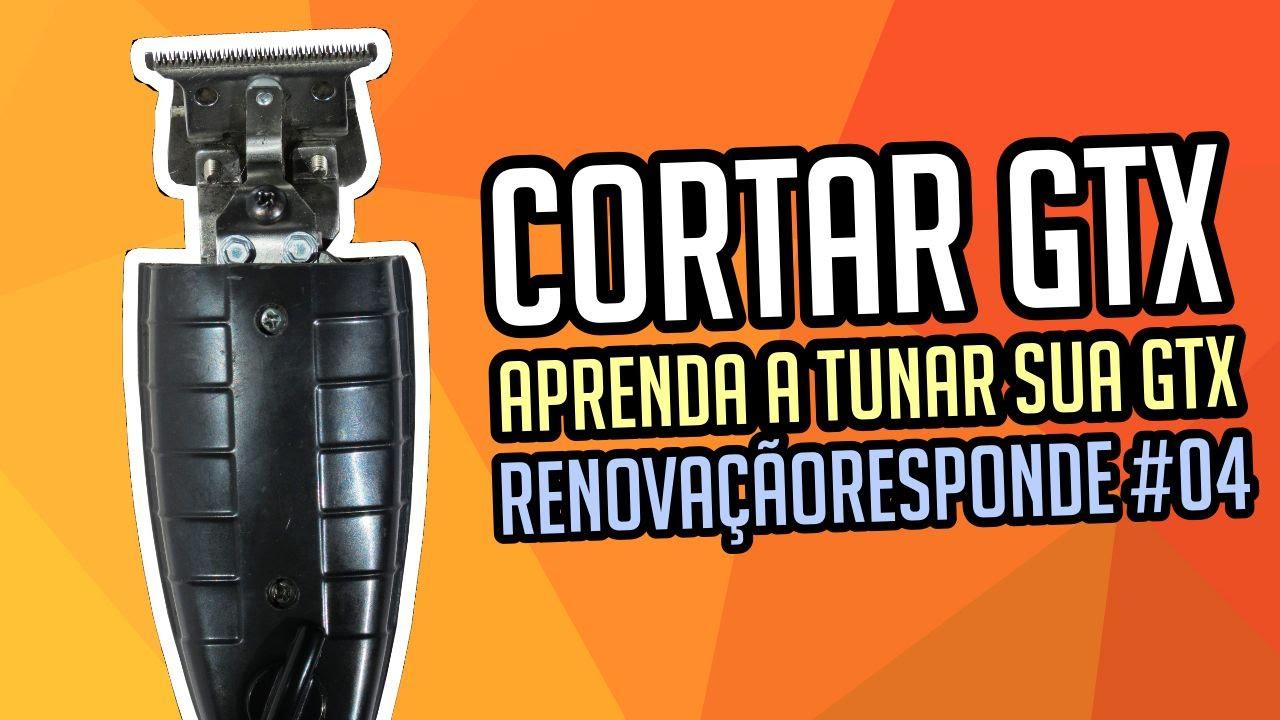 05233aaca Como cortar e regular a GTX (Andis) - RENOVAÇÃORESPONDE #04 - YouTube