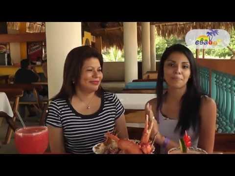 Turismo. Hotel Y Restaurante Santa Fe. Playa El Majahual, La Libertad, El Salvador, Centroamerica