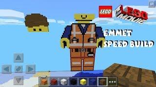Emmet The Lego Movie Pixel Art Minecraft Pocket Edition thumbnail