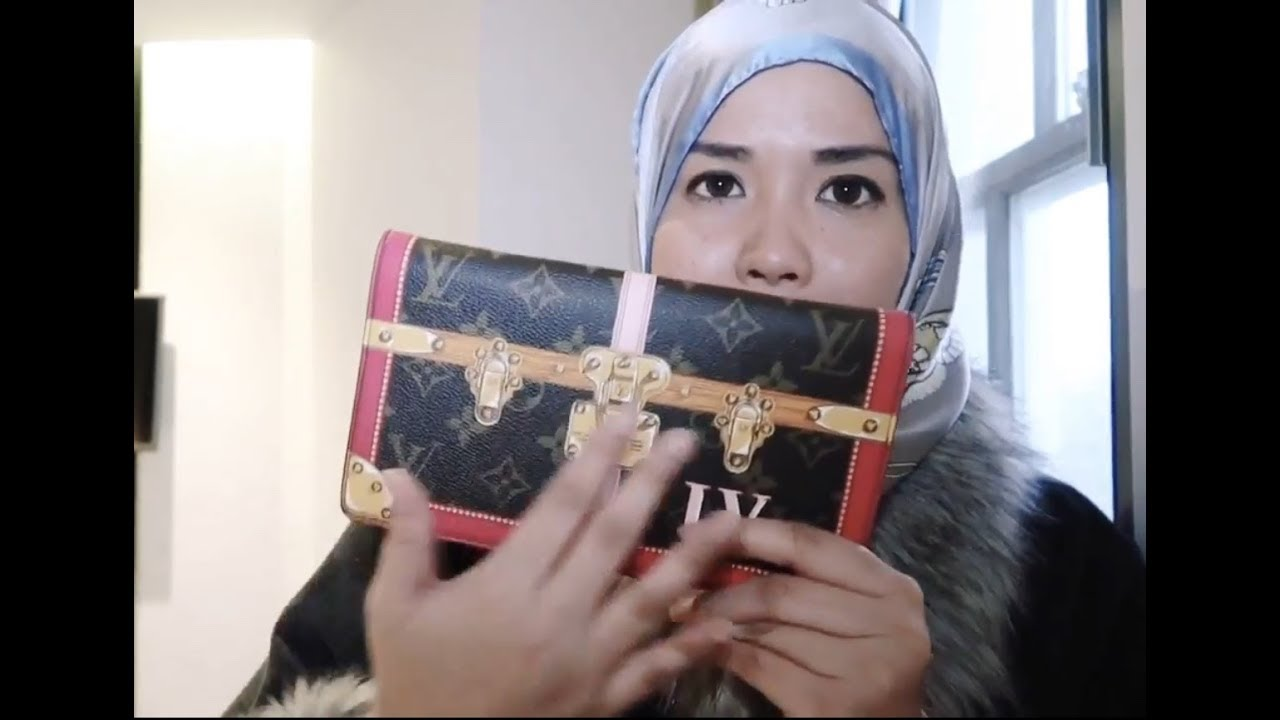 0f374db8fd5a New Louis Vuitton Pochette Weekend in Monogram Trunk Collection ...
