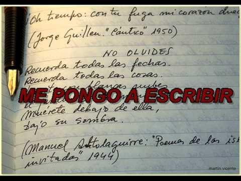 Ver Video de Victor Muñoz ME PONGO A ESCRIBIR (MC BRYAN VICTOR).wmv