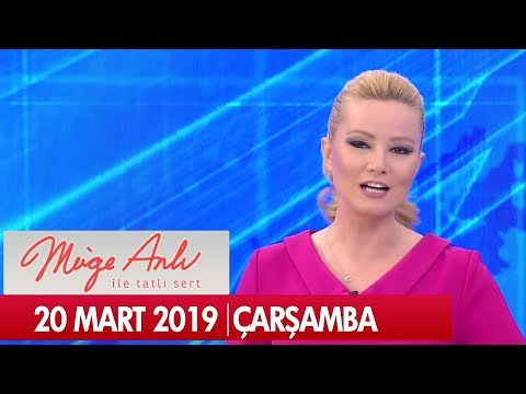 Müge Anlı ile Tatlı Sert 20 Mart 2019 Çarşamba - Tek Parça