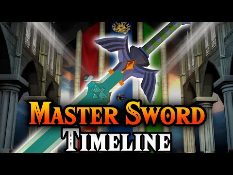 The Master Sword Timeline to Breath of the Wild 2 (Zelda Theory)