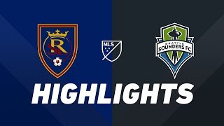 Real Salt Lake vs. Seattle Sounders FC | HIGHLIGHTS - August 14, 2019