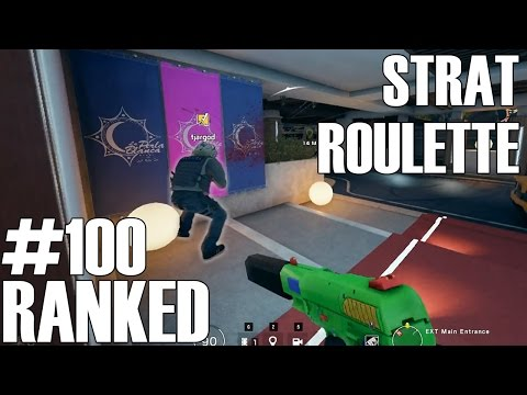 Rainbow Six Siege: Ranked - Strat Roulette (Episode 100 Special)