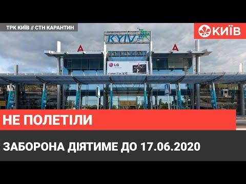Телеканал Київ: Аеропорт Київ скасував усі рейси