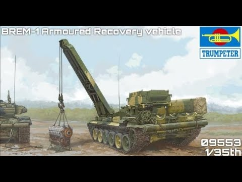 Modellbau Hobby Shop Schaut Rein #49 - Trumpeter 09553 - Russian BREM-1 Armoured Recovery Vehicle