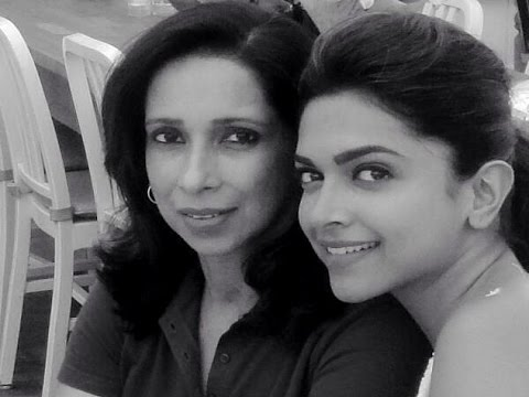 Image result for deepika with her mom