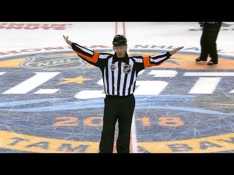 Wes McCauley emphatically calls back All-Star Game goal