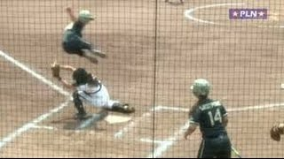 Army Softball: Kasey McCravey's leap is the #1 play on ESPN #SCTop10