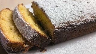 How To Make A Lovely Lemon Syrup Loaf Cake