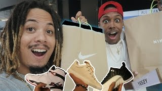 THESE RELEASED TODAY !?!?! ONLY 12,000 PAIRS MADE LIMITED HEAT !!! MALL VLOG