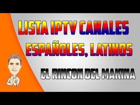 LISTA IPTV CANALES / ESPAÑOLES / LATINOS / USA
