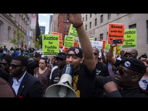 No Federal Charges for Police in Freddie Gray Case