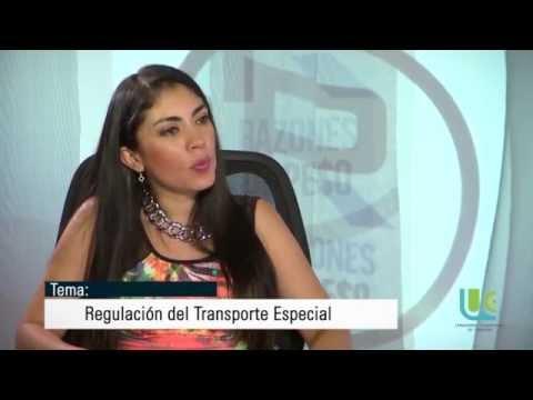 Nuevo reglamento para el transporte de servicios especiales