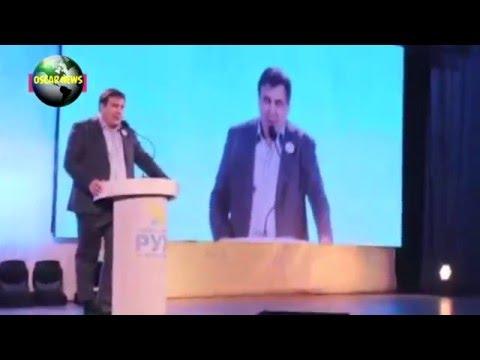 Саакашвили заправил брюки в носки. Новый дресс код