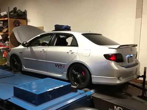 Turbo Corolla Xrs Dyno Vid Youtube