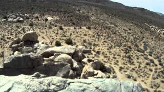 Rope Solo Lead Free Climb - Headstone Rock - Joshua Tree - 5.7
