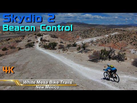 Skydio2 Beacon Control White Mesa New Mexico Mountain Biking