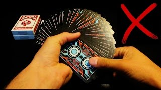 Top 5 WORST Handling Playing Cards
