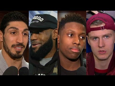 LeBron James, Enes Kanter, Frank Ntilikina and Kristaps Porzingis in a war of words   ESPN