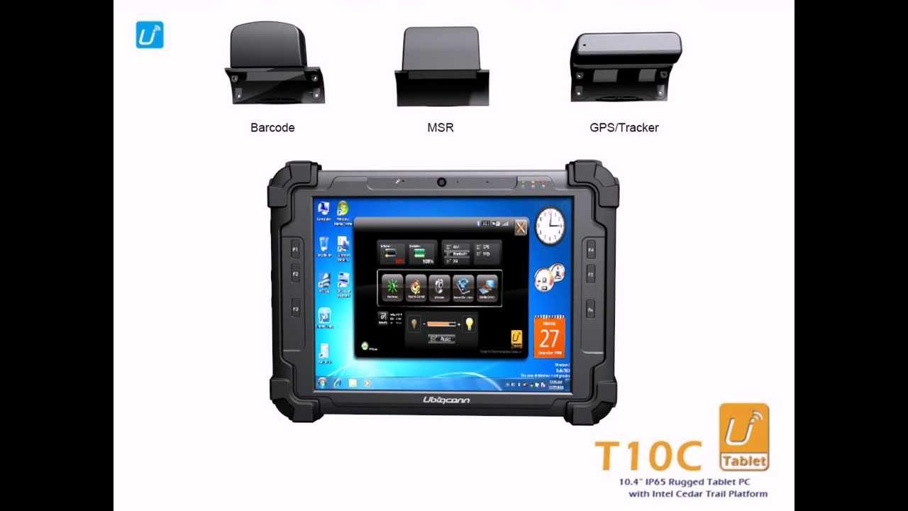 Utablet T10c 10 4 Ip65 Rugged Tablet Pc